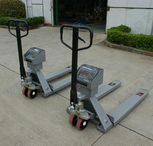 地牛式电子叉车秤 2吨