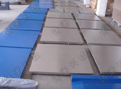 2吨不锈钢平台秤厂家